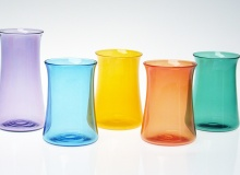 Short Curve Tumblers - Turquoise, Saffron, Orange, Emerald