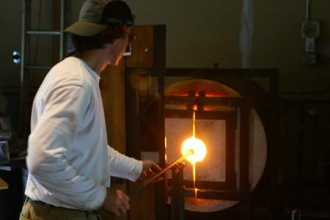 Nick Kekic - Working with the Glass Furnace