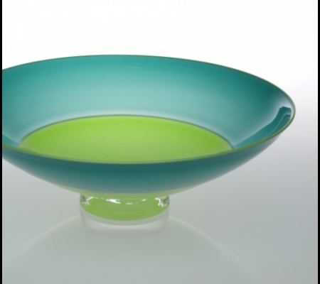 Incalmo Bowl - Apple with Turquoise / Apple Lip