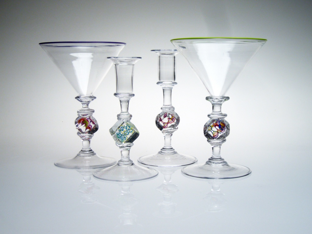 Goblets - Squarble™ Martinis with Squarblesticks