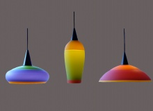 Three-color, Frosted, Opaque, Incalmo Light Shades