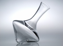 Rolling Red Wine Decanter - Clear