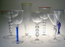 Goblets - Assorted (Margarita, Martini, Pilsner, Red Wine, White Wine)